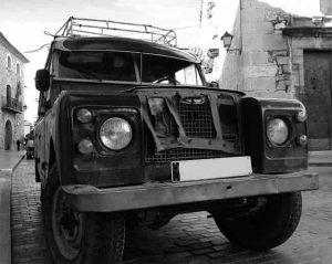 nicht fahrbreit Land Rover