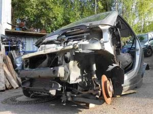 Smart Unfallfahrzeug